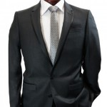Scriber & Marks hot offer grey suit